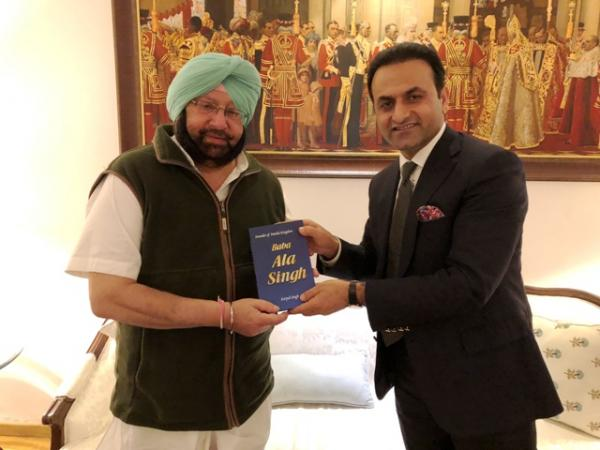 Afghan envoy meets Amarinder, proposes revival of Kabul-Amritsar air link