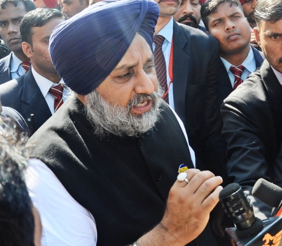 Recent violent incidents part of conspiracy between AAP and radical orgs: Sukhbir Badal