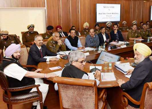 CM Amarinder calls meeting to review prison security in light of Gurdaspur Violence