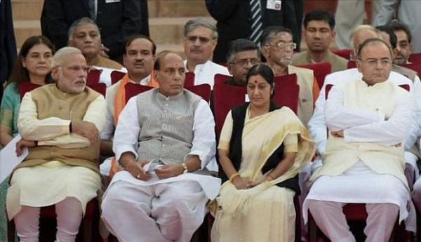 New ministers in, but suspense increases: Jaitley leaves on Defence trip in a few minutes, Sushma to go to Russia as Foreign Minister in 48 hours!