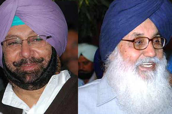 Captain Amarinder seeks Congress high command permission to fight Badal from Lambi