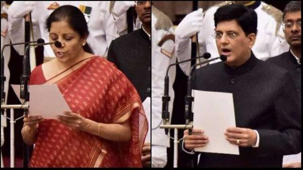 India gets first woman Defence Min as Nirmala replaces Jaitley; Piyush gets Railways