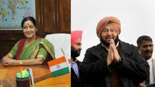 Amarinder talks to Sushma Swaraj on 39 Indians held hostage by ISIS in Iraq
