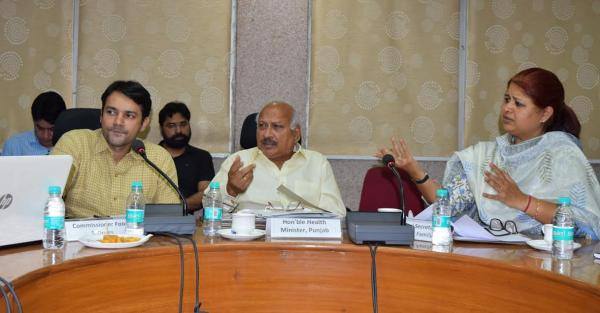 Punjab to implement Food Safety Act strictly: Brahm Mohindra