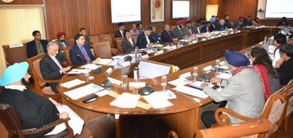 Punjab CM asks DCs to prioritise core sectors for ensuring quality of life of citizens