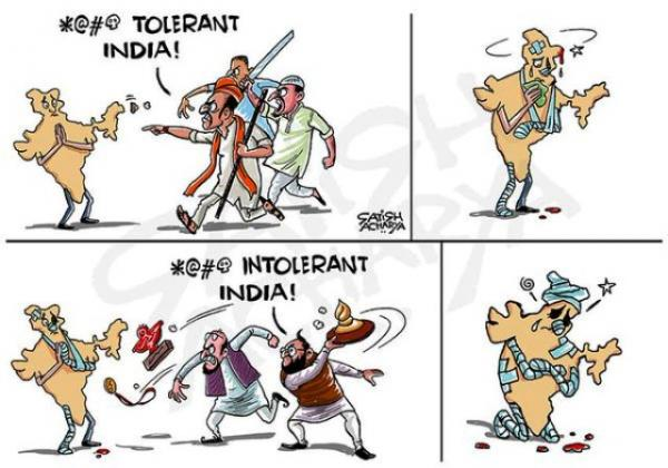 Intolerant or too tolerant