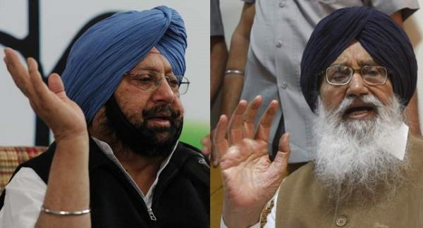 Badal helped terrorists in Punjab, will make him pay for his sins: Capt Amarinder