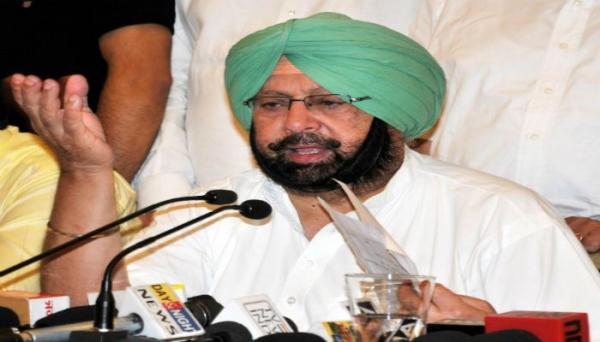 Won't let peace be disrupted at any cost: Amarinder