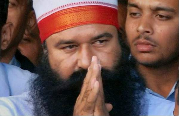 Ram Rahim sentenced for 20 years in jail