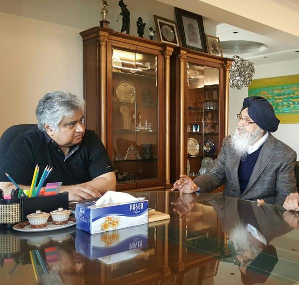 SYL Row: CM Badal meets Senior Counsel Harish Salve