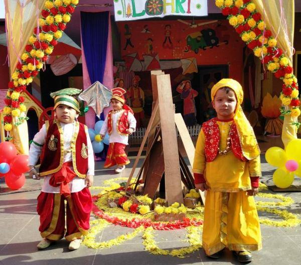 Lohri celebrations at Guys & Dolls Preschool