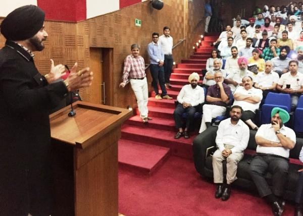 Online building plans approval system to be game changer: Navjot Sidhu