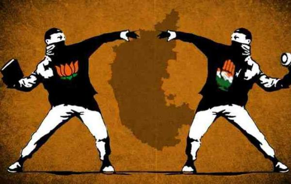 Role Reversal: BJP backs corrupt while Cong hits it on Hindutva