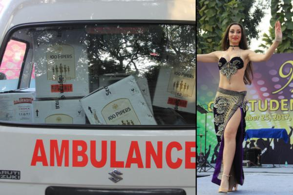 Shocking scenes at medical college: Belly dancers perform, ambulance used to carry liquor