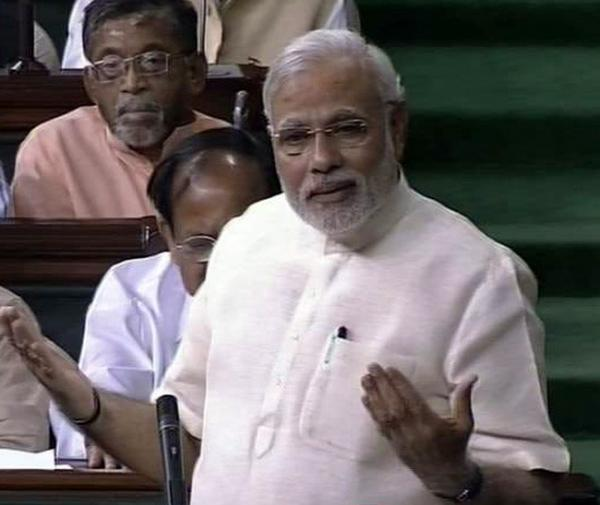 Rahul Gandhi reluctant to learn with age : PM takes dig in Lok Sabha