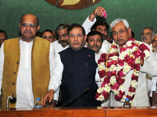 Nitish Kumar is new Janata Dal (United) Chief