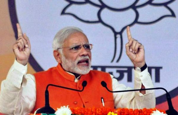 Congress a sinking ship, is history; says PM Modi at Jalandhar Rally