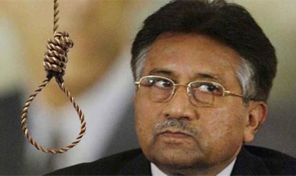 The death sentence to General Pervez Musharraf