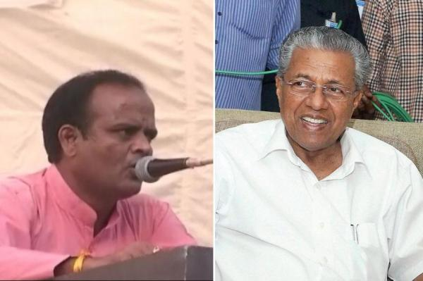 RSS leader announces Rs 1 Crore Reward to Anyone Who Beheads Kerala CM