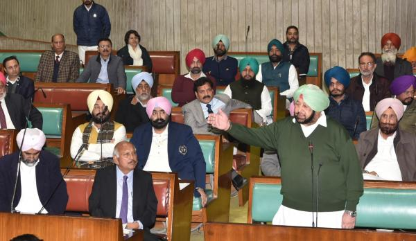 Punjab to move SC against CAA; Assembly passes resolution seeking repeal of act