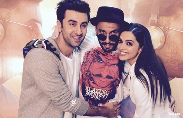 Deepika is confused between Ranveer Singh and Ranbir Kapoor