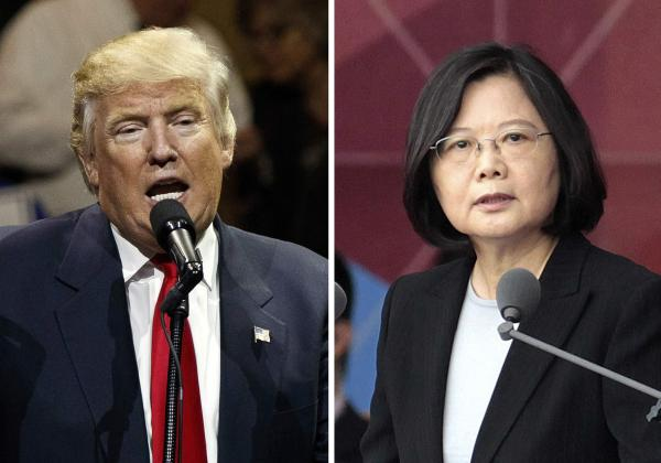 China lodges protest after Trump's call with Taiwan President