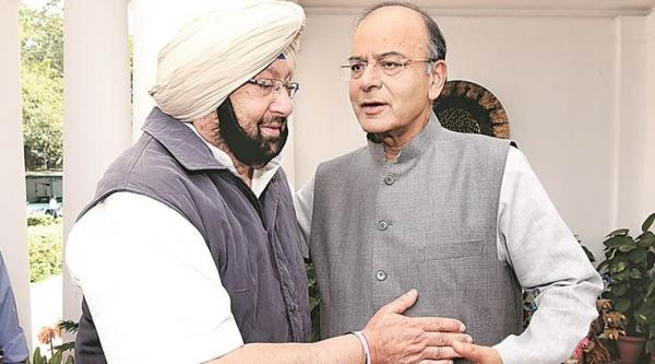 Captain asks Jaitely for GST exemption on goods purchased for making Langar, Prasad