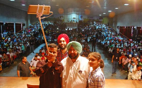 Amarinder announces resumption of student union elections after 34 years