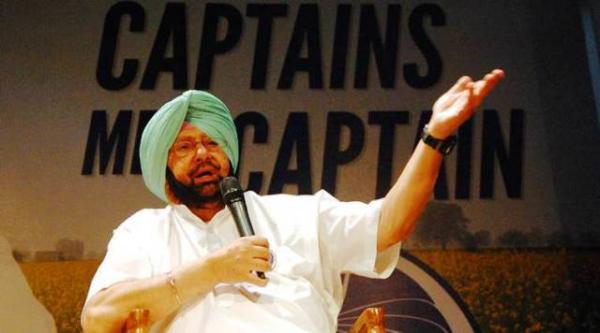 AAP's knee-jerk reactions clear sign of panic in face of certain defeat: Capt Amarinder
