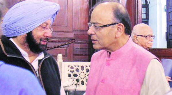 BURYING THE HATCHET: Amarinder to meet PM, says ties with Jaitley