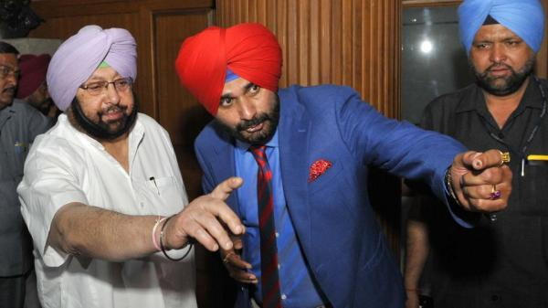 If Sidhu doesn't want to do his job, there's nothing I can do about it: Amarinder