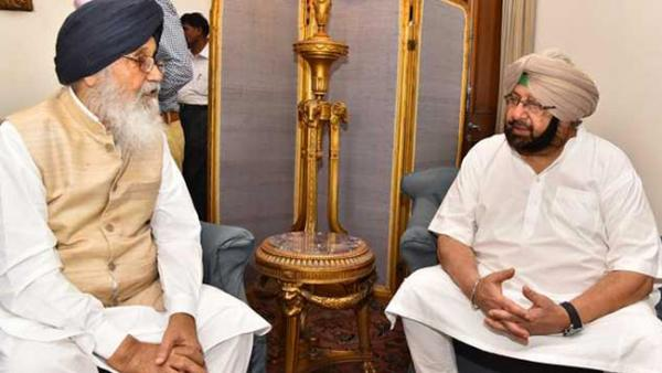 Amarinder ridicules Badal for trying to divert attention from SIT probe in sacrilege cases