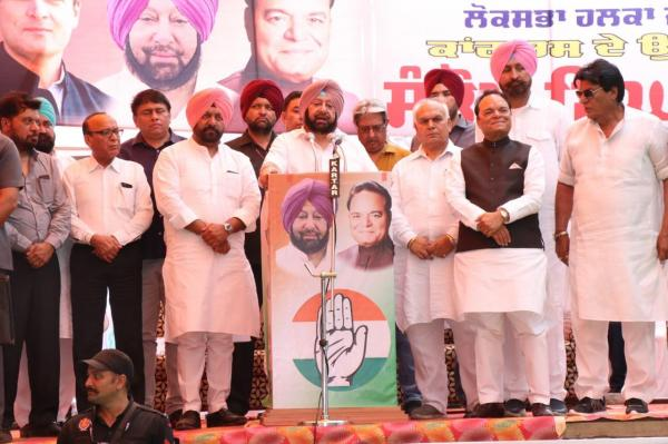 Modi's nuke statement 'highly irresponsible'; LS polls a 'Jung' for India's future: Amarinder