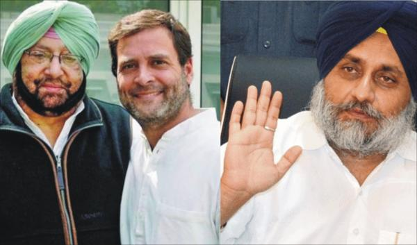Amarinder flays Sukhbir for attacking Rahul over 1984 riots issue