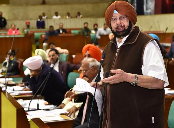 Amarinder authorized by Assembly to raise SGPC poll delay with centre