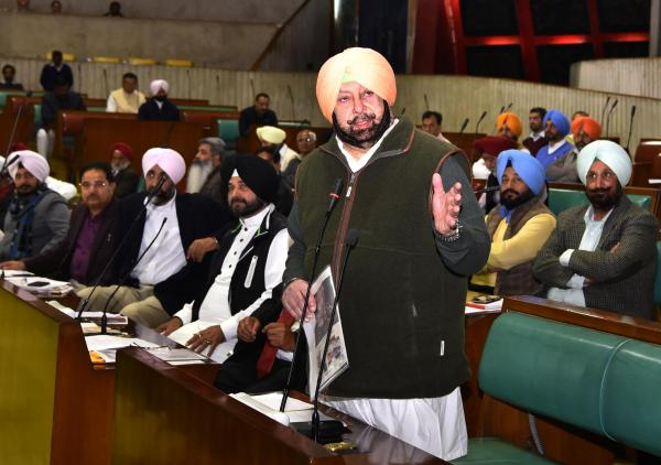 Centre should give befitting reply to Pak Army & ISI: Amarinder