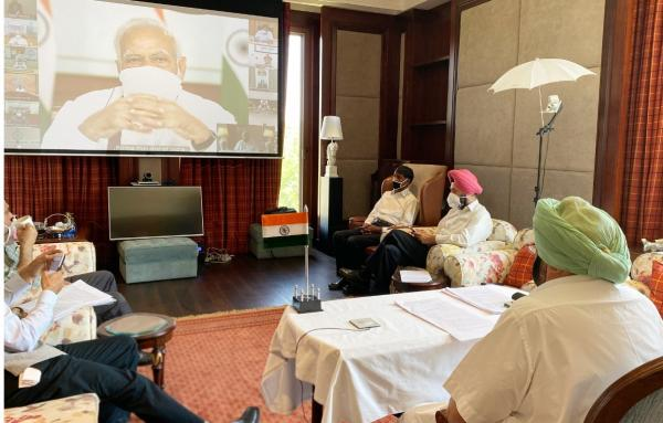 PM's video conference: Amarinder suggests extension of national lockdown