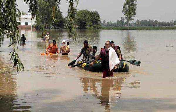 Punjab CM writes to PM for Rs 1000 Cr special flood relief package