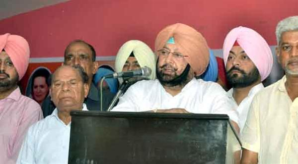 Will thrash 'dusht' Badal for atrocities on Dalits: Capt Amarinder