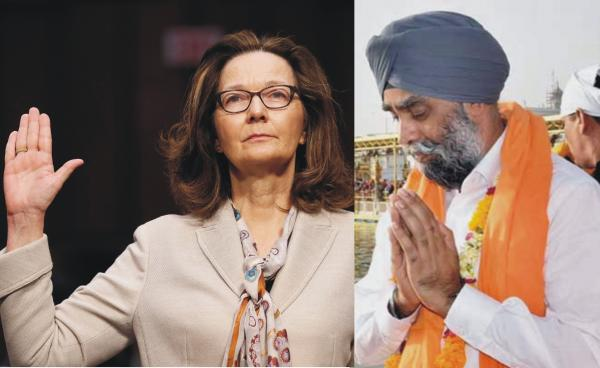 SIKHS & FEMINISTS – We hailed Harjit Sajjan; they didn't hail Gina Haspel
