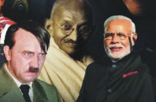 Hitler, Modi and Gandhi: On the same page?