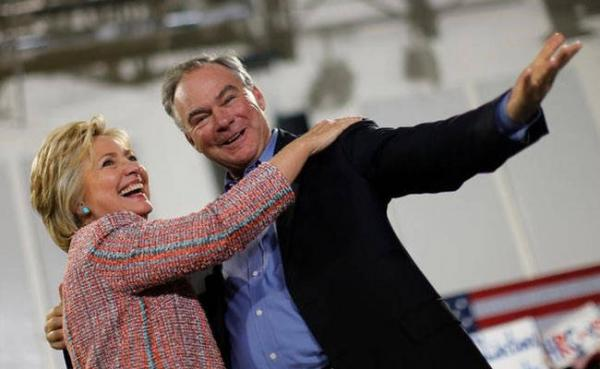 Hillary Clinton Selects Tim Kaine as a Vice Presidential Running Mate