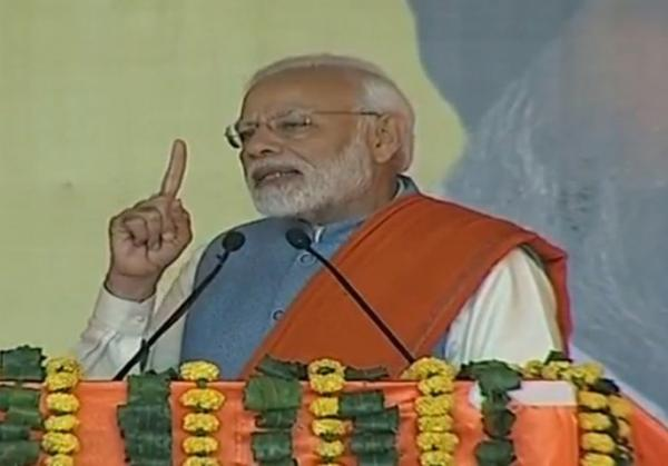 PM Modi attacks Congress over 1984 riots, Karzamaafi