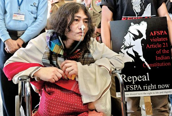 Irom Sharmila to break 16-year fast, contest Manipur election