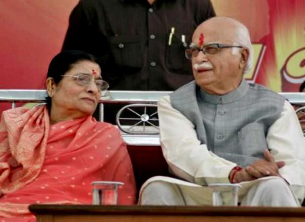 Kamla Advani, wife of BJP leader LK Advani, dies
