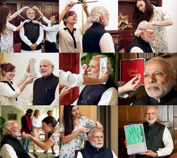 Modi finds a place at Madame Tussauds