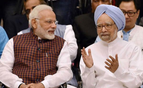 Modi must apologise for spreading falsehood to score political points: Manmohan
