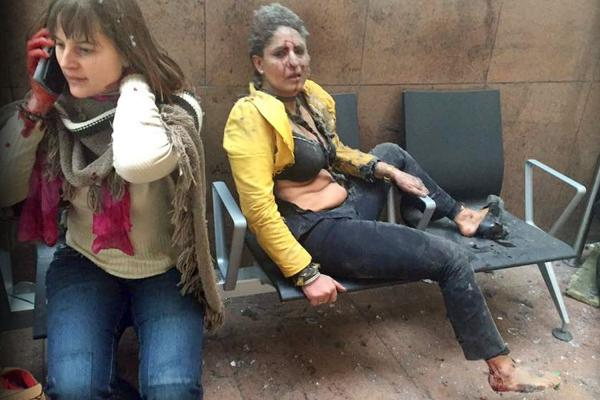 The story behind the woman in that haunting photograph of the Brussels attacks