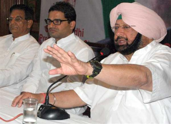 Capt Amarinder dares Kejriwal to fight him on any seat