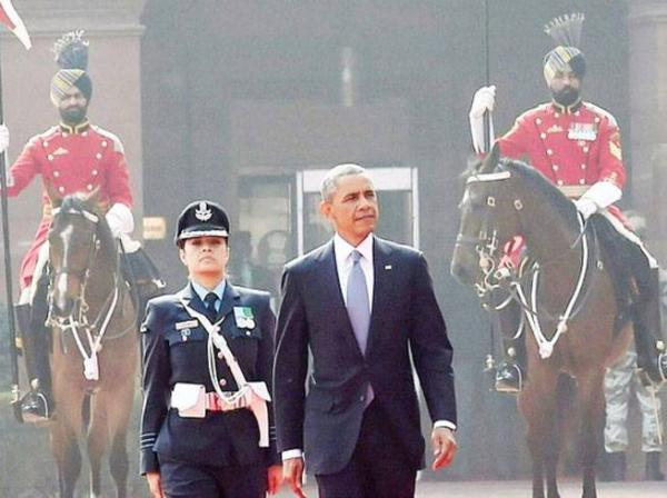 Wing Commander Pooja Thakur, who led Guard of Honour for Obama, sues Indian Air Force